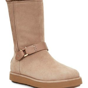 UGG CLASSIC SHORT BERGE SUEDE WATERPROOF TALL BOOT